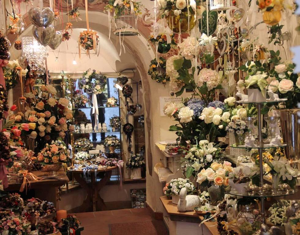 Salzburger Blumenbinder Christine Renzl Die Goldgasse